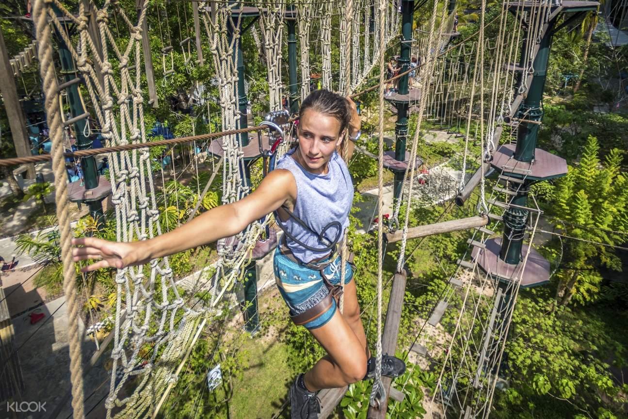 Extreme activities in ESCAPE Adventureplay Theme Park